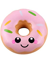zolimx Donuts Kawaii Squishy Juguete Alivio de TensióN de Levantamiento Lento Para Niños Adultos