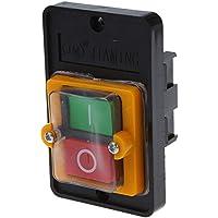 SODIAL(R) AC 220 / 380V EN Resistente al agua Interruptor de Boton KAO-5