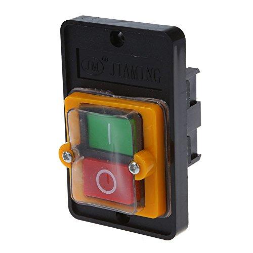 SODIAL(R) AC 220 / 380V EN Resistente al agua Interruptor de Boton...