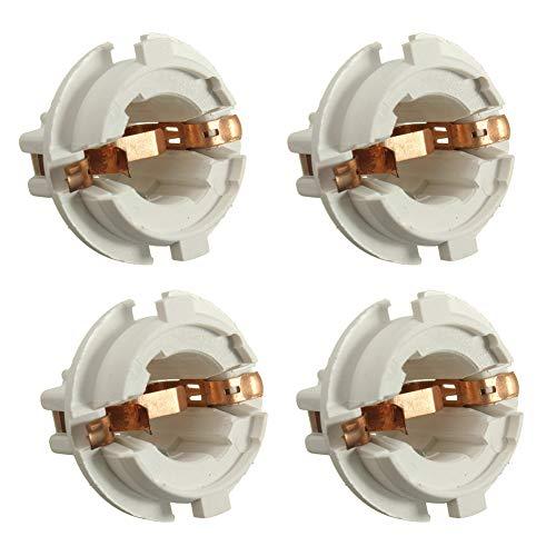 YSHtanj KFZ-Lampenfassung für andere Lampensockel, 4 Stück, Auto-Rücklicht, Lampenfassung, Zubehör für BMW 7er-Serie X3 X5 -