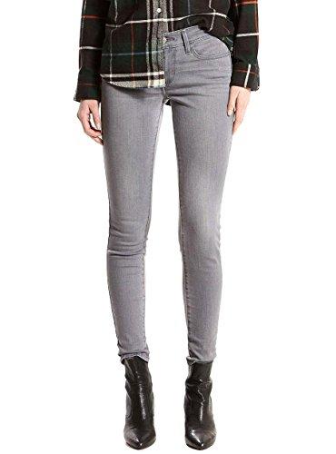 Jeans Levis 710 Super Skinny Grey Grigio