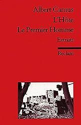 L'Hôte. Le Premier Homme: (Fremdsprachentexte)