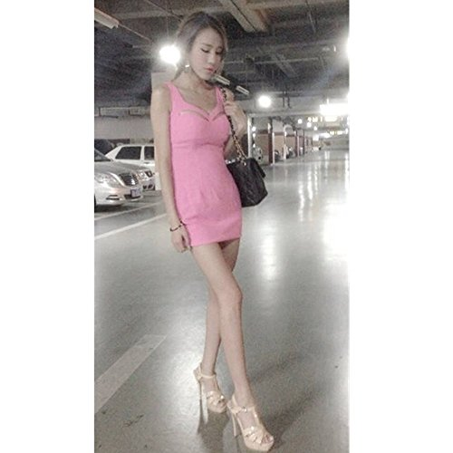 EVTECH(TM) New Style Fahion Women's Ladies Sexy Nightclub Evening Party Bandage Package Hip Mini Bodycon Strapless Dress - L