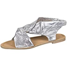 Donna Sandali Moda Casuale Peep Toe Open Toe Spiaggia Scivolare Sul Piatto Con  Scarpe Sandali Estivi f2b081d6175