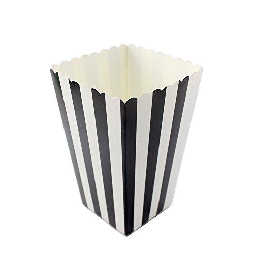 Ipalmay - Caja para palomitas, diseño con lunares, papel, 36 unidades