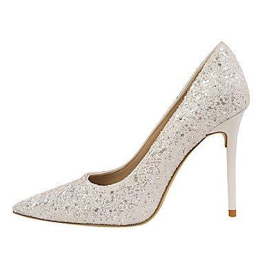 Moda Donna Sandali Sexy donna caduta tacchi Comfort abito in similpelle Stiletto Heel altri più colori disponibili. golden