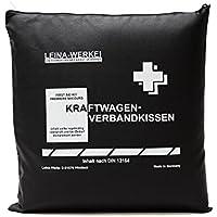 Leina Werke 11202 KFZ-Verbandkissen Standard, Schwarz/Weiß preisvergleich bei billige-tabletten.eu