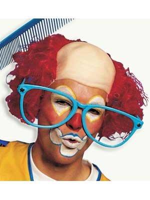 Perücke Clown Clownglatze August
