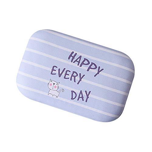 enbehälter Weiche Linsen Reise Gestreifte Punktkarikatur Kontaktobjektiv Linsenbehälter Pflegelösung Behälter Kontaktlinsen-Etui Eisenkasten Random(eins für einen Verkauf) ()