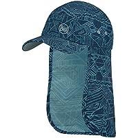 Buff Bimini Cap Gorra, Unisex-Child, Blue, One Size