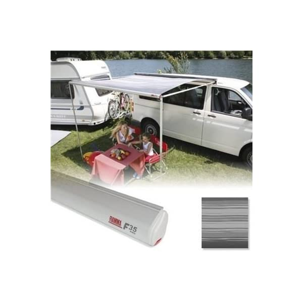 Fiamma F35 Pro 300cm 3m Caravan & Camper Van Awning Deluxe Grey/Titanium 06762D01T 1