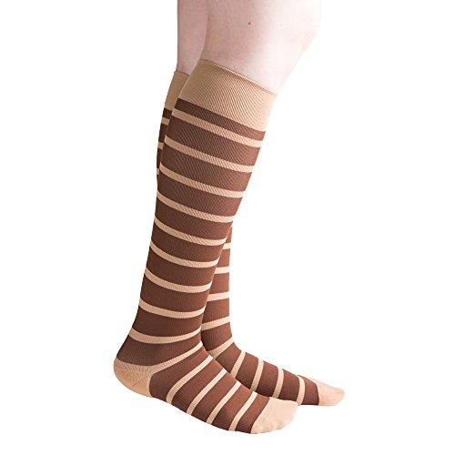 venacouture Bold Damen 15-20mmHg Kompression Socken-Mode/Casual/Schwangerschaft -