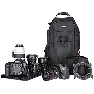 Rollei Fotoliner Fototasche Klassik – Robuste Transporttasche für Ihre DSLR Kamera