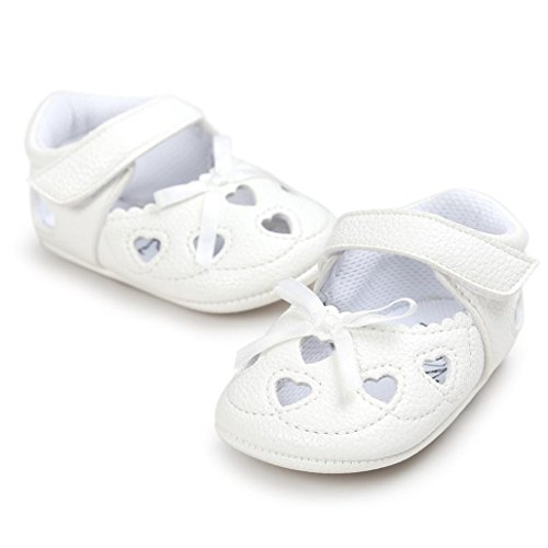 BZLine® Baby Girl Hollow out Sandalen Schuh Schuhe Sneaker Anti-Slip Soft Sandalen Weiß