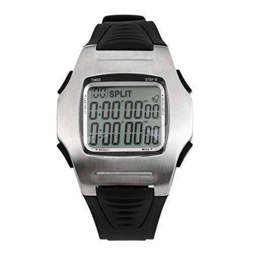 LouiseEvel215 Relojes multifunción Relojes de árbitro de fútbol Cronómetro Cronómetro Reloj de cuenta regresiva Club de fútbol para Hombres Novedades (De Juegos Relojes)