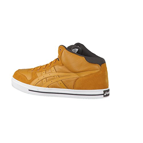 Asics Aaron MT Mid Cut Leder Sneaker HL531-7171 Tan/tan