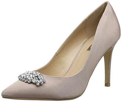 Dorothy Perkins Damen Jewel Court Shoes Pumps, Pink (Blush 30), 37 EU