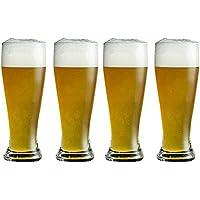 Taza De Cerveza Gruesa, Taza De Cerveza Sin Plomo del Vidrio Cristalino, Taza del