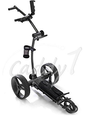 Elektro Golf Trolley CADDYONE 700 in Darkgrey mit Lithium-Akku by CADDYONE