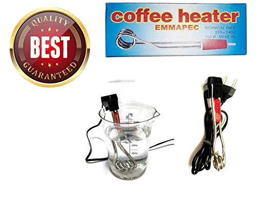 Texme New Electric Mini Small Coffee/Tea/Soup/Water/Milk Heater Boiler Immersion Rod