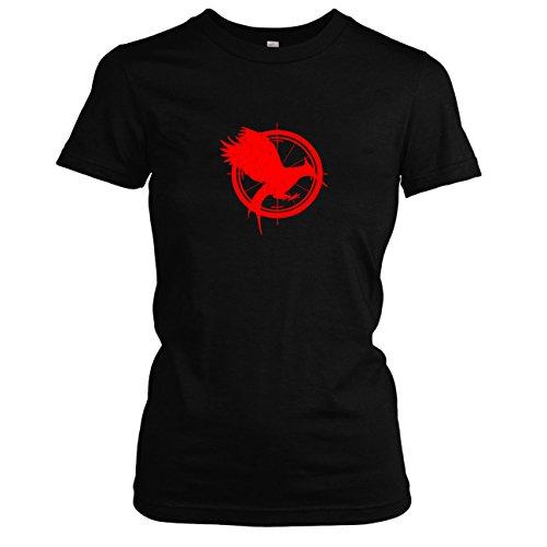 TEXLAB - Gefährliche Liebe - Damen T-Shirt, Größe XL, schwarz