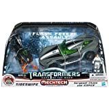 Transformers 3 Dark of the Moon Human Alliance Exclusive Flash Freeze Assault Sideswipe with Sergeant Chaos Icepick by Transformers