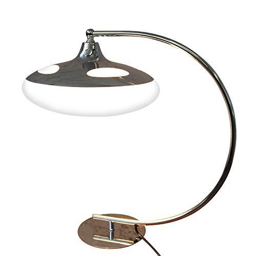 Design Tischlampe LUNA LOGO Tischleuchte Art Deco Stil Schreibtisch Büro Lampe Schreibtischlampe -