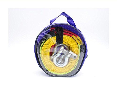 Preisvergleich Produktbild ZGBZZ Anhänger Seil,  5 m 5 t Auto Abschleppseil,  Anhänger Gürtel,  SUV Schleppseil,  doppelte Verdickung,  Blending,  SUV,  Limousine