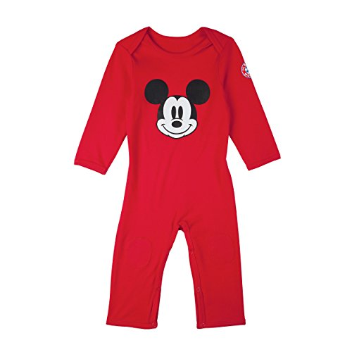 FC Bayern München Baby Strampler Disney Mickey Mouse, Babystrampler, Strampler, Gr. 62