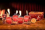 Feuerzangentasse 4er-Set terra - premium