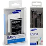 Batería Original Samsung GT-S7580Galaxy Trend Plus (Blister Incluye auricular orginale Samsung HS130Black (Blister