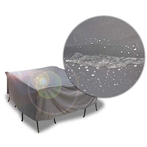 WHS Staubschutzausrüstung Gartenmöbel Tisch und Stuhl Oxford-Stoff Material wasserdichte Schutzhülle Regen Sonnenschutz Sofabezug (Size : 100 × 100 × 70 cm) -