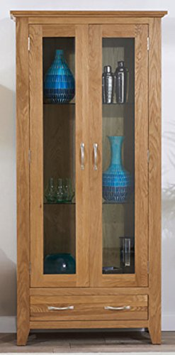 Hallowood Camberley Display Cabinet Includes Three for sale  Delivered anywhere in UK