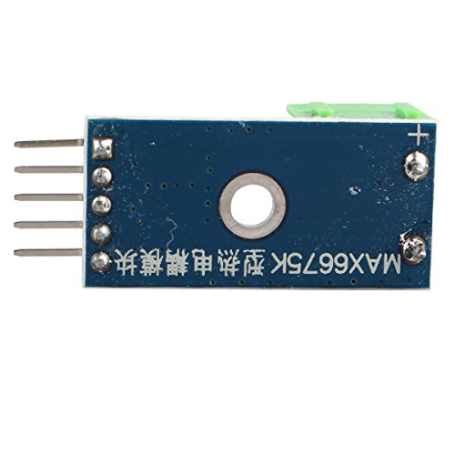 Haljia module Max6675+ thermocouple type K Capteur de température 0~ 1024'C Plage de température de tests pour Arduino Raspberry Pi
