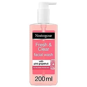 Neutrogena Visibly Pink Grapefruit Facial Wash - (200ml)