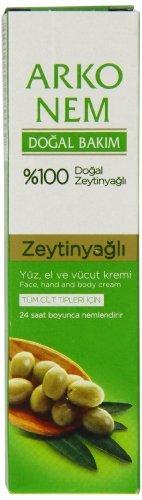 Arko Pflegecreme Olivenöl 20ml 3-er Pack