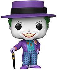 Pop! Heroes:Batman 1989 -Joker w/Hat w/Chase (El diseño Puede Variar)