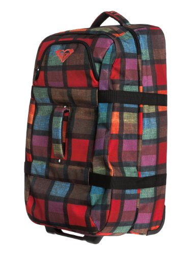 Roxy Damen Reisetasche In The Clouds Plaid, h coral ax prim, 30 x 40 x 10 cm, 75 liters, WTWBA601-MKZ1