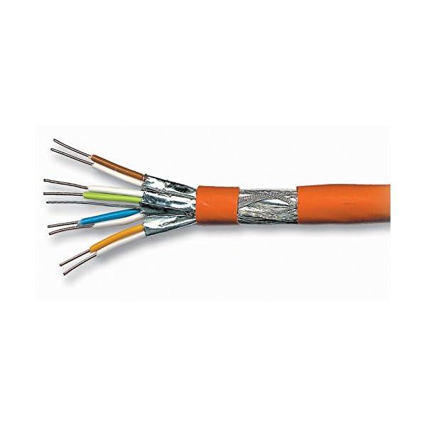 Cble-patch-Cat-7-SFTP-PIMF-sans-halogne-600-MHz-pour-lecteurs-Multimdia-streaming-IPTVRcepteurs-SatelliteCble-rseau-serveursordinateurs-PCSuper-Fast-Ethernet-avec-connecteurs-broches-Or