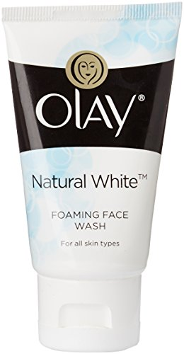 Olay Natural White Foaming Face Wash Cleanser