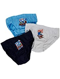 NEW KIDS BOYS 3 PACK OFFICIAL THOMAS THE TANK ENGINE TRAINS BRIEFS PANTS UNDERWEAR SET TODDLERS SIZE 18 months - 5 years