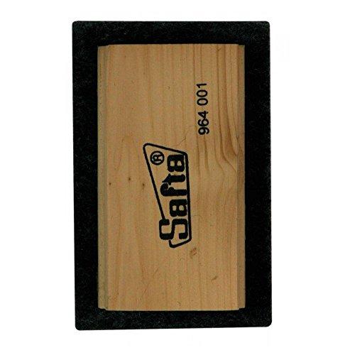 Escolar - Borrador fieltro grande de madera - papeleria (80/10)