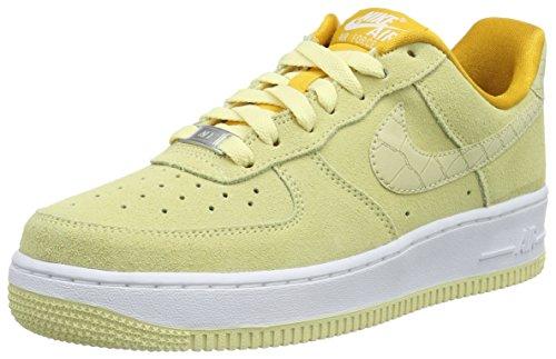 Nike Unisex-Erwachsene Wmns Air Force One Seasonal Sneakers, Gelb