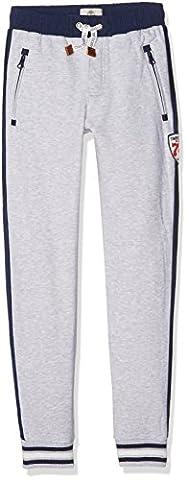 Timberland de Jogging, Pantalon de Sport Garçon, Gris (Gris Chiné), 8 Ans (Taille Fabricant: 08A)