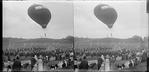 poster-a3-new-zealand-stereoscopic-photograph-of-a-hot-air-balloon-over-the-domain-auckland-191-ster
