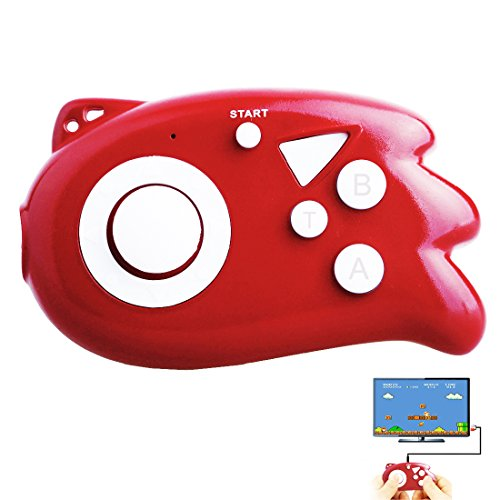 ZHIHSAN Kids Retro Game Console Iconic Mini joystick Plug-in portátil