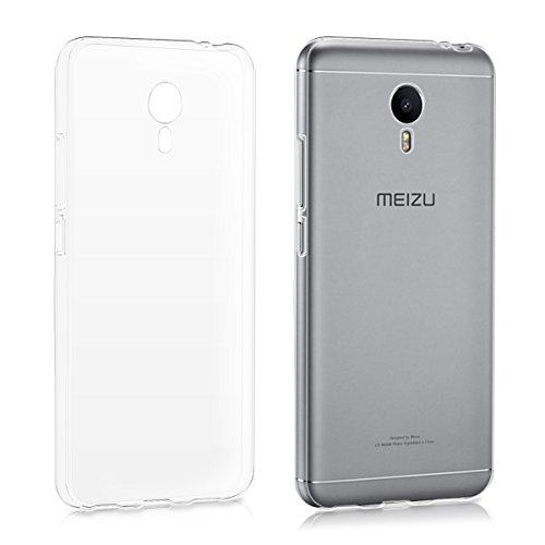 kwmobile Meizu M3 Note Hülle - Handyhülle für Meizu M3 Note - Handy Case in Transparent