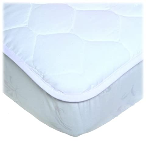 UltraSoft Quilted Crib Mattress Pad by Continental Quilting (English Manual)