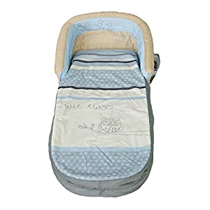 Sleepytime Owl My First ReadyBed - Inflatable Toddler Air Bed and Sleeping Bag in one