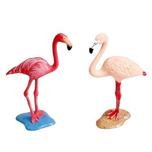CM / 3,4 inch Tropical Rosa Flamingo Romantische Geburtstagsfeier Dekoration für Geschenk Kinderzimmer Flamingos Dekorationen (Yard Rosa Flamingos)